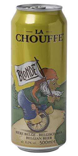 La Chouffe Blonde 50cl (pack de 12 canettes)