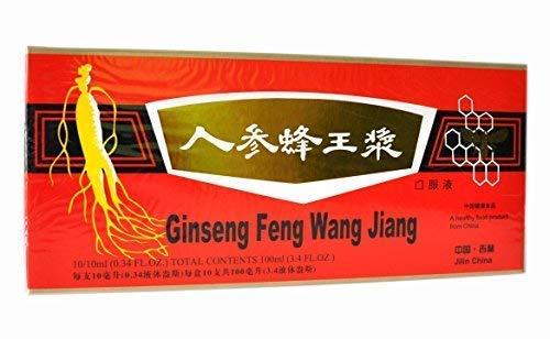 1 Box Ginseng Royal Jelly Oral Liquid 1 x 10 Vials