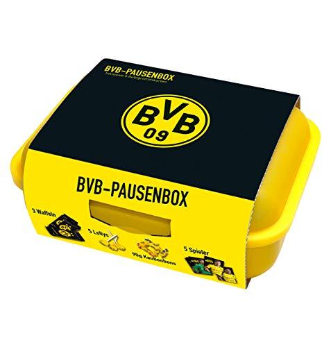 Gunz BVB Borussia Dortmund Brotdose/BVB Pausenbox 275g INKLUSIVE 5 BVB AUTOGRAMMKARTEN!