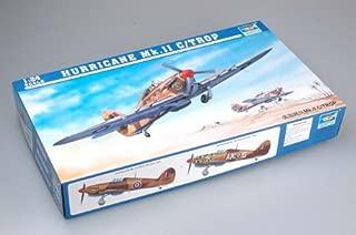 1:24 Trumpeter Hawker Hurricane Mk.iic/tropical Model Kit.