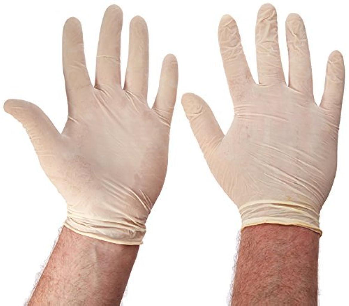 ジレンマ愛人インゲンBoss Gloves 85 10-Count Disposable Latex Gloves [並行輸入品]