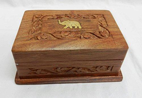 Generic t Slide Lock Bo nt Inlay handgeschnitzt aus Holz Secret Slide Lock Box mit Einlage Messing t Slide Lock Bo Woo handgeschnitzt<1&1180*1>