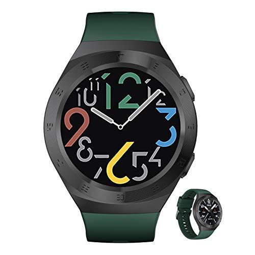 BNMY Smartwatch Reloj Inteligente con Pulsómetro,Cronómetros,Calorías,Monitor De Sueño,Podómetro Monitores De Actividad Impermeable IP68 Smartwatch Hombre Reloj Deportivo para Android iOS,C