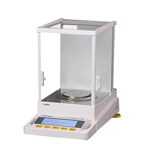 Hanchen Balanza Analítica de Alta Precisión 60g/0.1mg 210g /1mg Modos de Calibración Dual Digital Báscula Científica de Laboratorio: Amazon.es: Bricolaje y herramientas