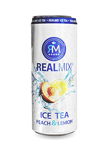 REALMIX Ice Tea Peach&Lemon (24 x 250ml)