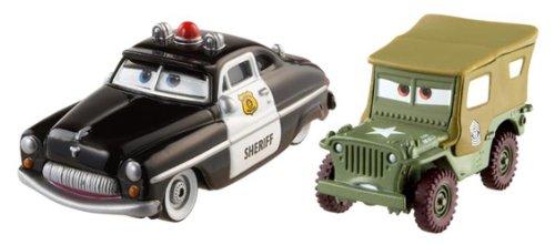 Mattel - Cars 2 Sheriff Et Sergent