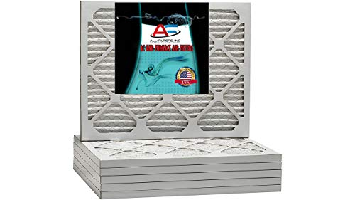 AF 12x24x1 MERV 11 Pleated AC Furnace Air Filter. Pack of 4 filters. Produced in the USA.