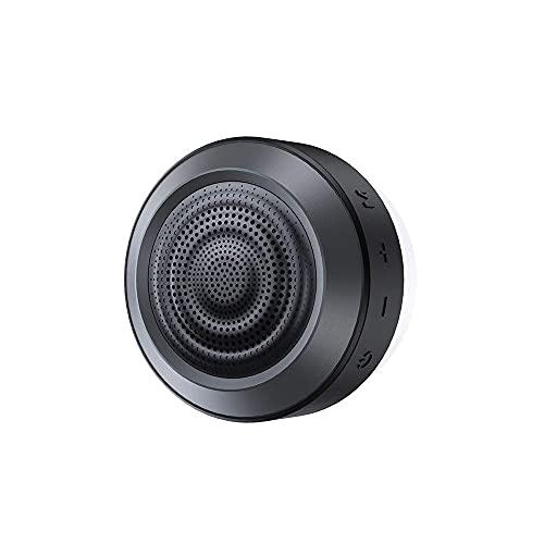 MIFA A4 Bluetooth Duschen Lautsprecher, Musikbox Bass+ Treiber 8 Stunden Freisprechen Wiedergabe 360° TWS Stereo Sound IPX7 wasserdicht mit Mikrofon für Schwimmteich Badezimmer