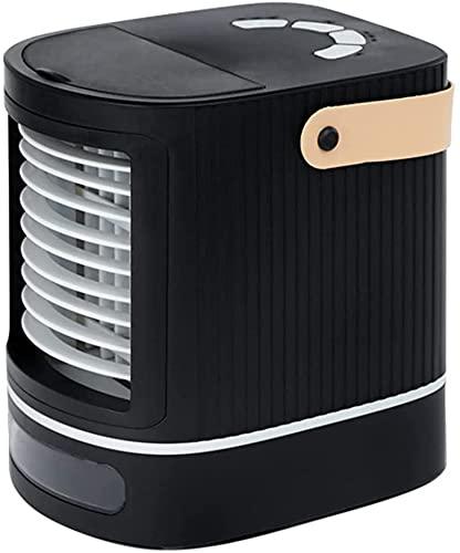 XJYDS Condizionatore mobile per raffreddamento ad aria portatile Mini, 3 in 1 raffreddamento rapido di raffreddamento veloce, ventilatore dell'aria USB con velocità regolabili, per ufficio casa da let