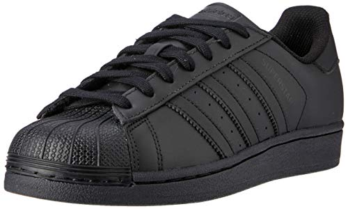 adidas Originals Superstar Foundation, Herren Sneakers, Schwarz (Core Black/Core Black/Core Black), 44 2/3 EU (10 Herren UK)