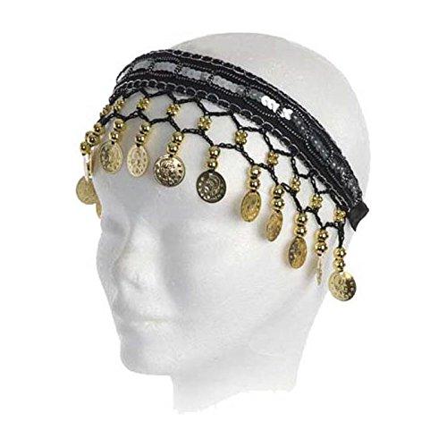 Wilbers Karnaval - Tiara para disfraz de gitana| color negro