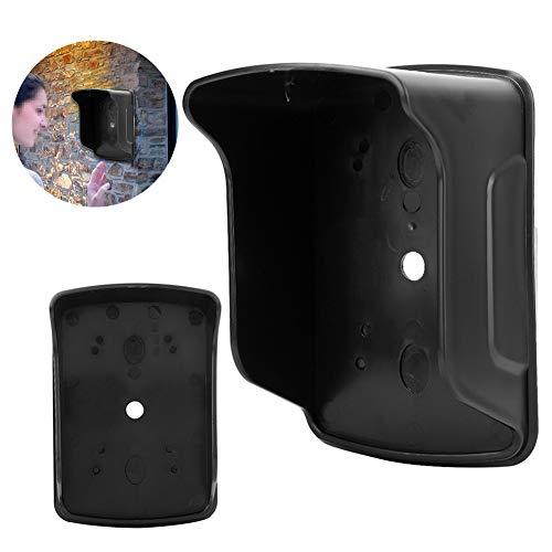 Jadpes Regenhoes, 2 stuks, waterdichte kunststof, toegangscontrole, regenbescherming, val, afdekking, kleine toegangscontrole machine, bescherming tegen regen voor toetsenbord en deurbel