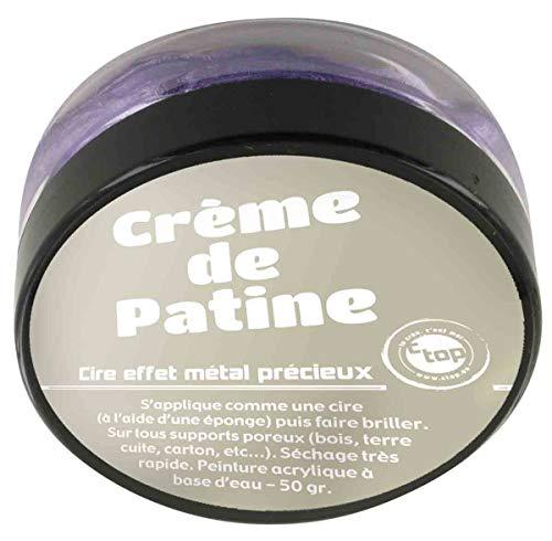 Crème de patine violet-50grs