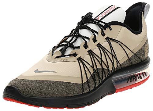 Nike Air Max Sequent 4 Utility, Zapatillas de Atletismo para Hombre, Multicolor (Desert Ore/Reflect Silver/Black 202), 45 EU