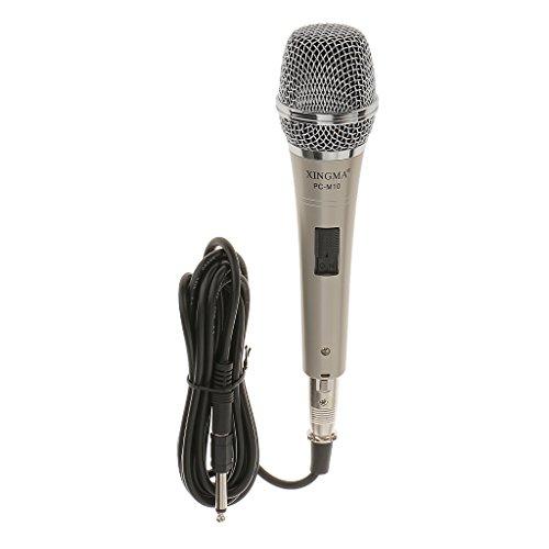 Dynamisches Kondensatormikrofon mit integrierter So&karte (3,5 mm Klinkenstecker), Kabellänge 3 Meter