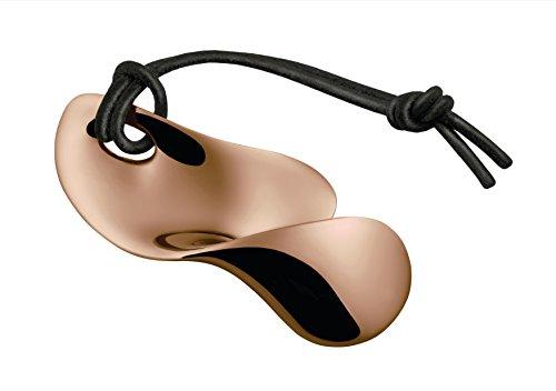 Alessi VS01 GP Bulla Apribottiglie, Acciaio Inossidabile 18/10 Lucido, PVD, Golden Pink
