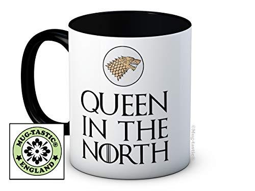 mug-tastic Queen in The North - Game of Thrones - Taza De Café De Cerámica