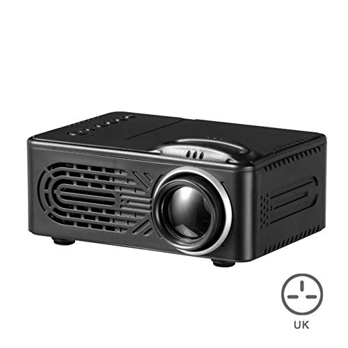 Herewegoo - Proyector portátil 7000 lúmenes 3D 1080P 4K Full HD Mini proyector LCD LED multimedia Android Smart Home Theater HDMI AV USB, Blanco, UK