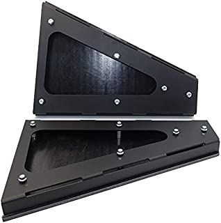 Heavy Duty Boxed A-Arm Guard with Skid Plate for RZR 1000