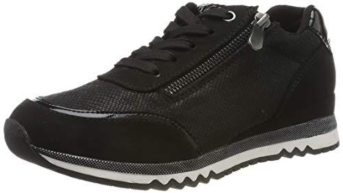MARCO TOZZI Damen 2-2-23713-33 Sneaker, Schwarz (Black Comb 098), 39 EU