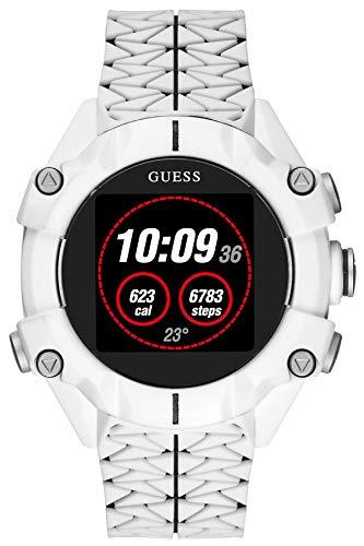 Guess Watches Gents Connect Reloj para Unisex Digital con Brazalete de Silicona C3001G4