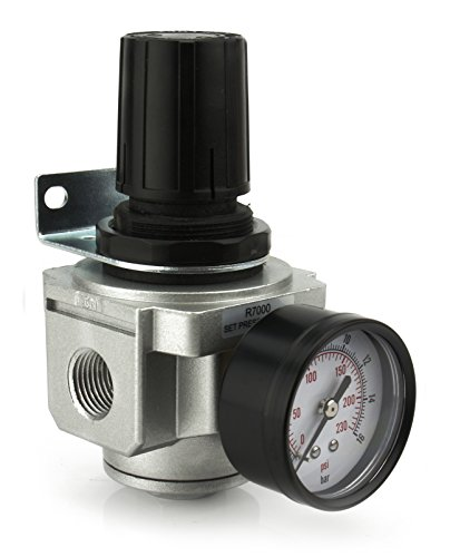 Air Pressure Regulator for compressor compressed air 1/2' FREE GAUGE