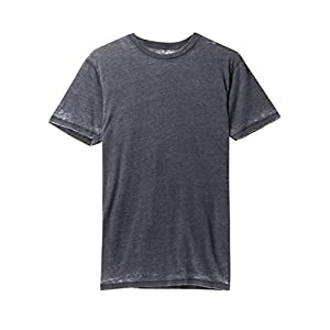 Men's Premium Burnout Short Sleeve T-Shirts Soft Faded Vintage Crewneck Tee