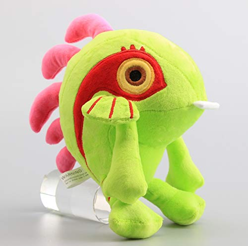 LYH2019 Murloc Plush Toy Green Color Murloc Fish Stuffed Animals Soft Dolls 9