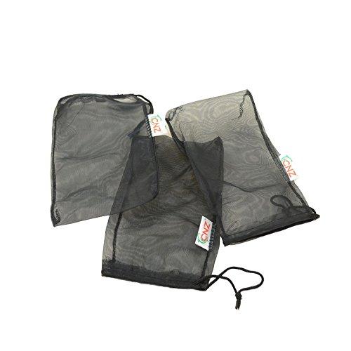 "CNZ Universal Media Filter Bag for Aquarium (Ultra Fine 8"" x 5.5"" 3-Pack)"