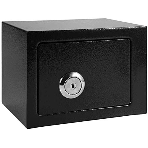 SMLZV Cajas fuertes, Seguridad Safe Box Clave Operado Money Storage Storage Home Offic