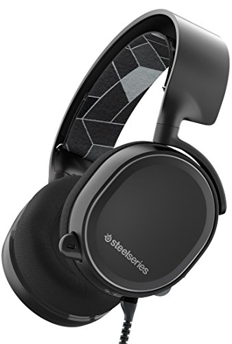 SteelSeries Arctis 3 [Edizione Legacy], Cuffie da Gioco, PC / Mac / PlayStation 4 / Xbox One / Nintendo Switch / Mobili / VR, Nero