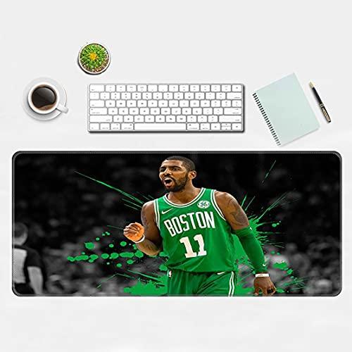Mata do gier Podkładka pod mysz z James Harden Curry Printing, kompatybilny z laserem i myszy optycznymi do gier, biuro pracy pad 90 * 40 cm Green Irving