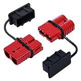 shiqi 175 AMPS 1/0 2 4 6 AWG Batería Conecte rápido Desconectar el Enchufe eléctrico Ajuste para el cabrestante de recuperación o Paquete de Remolque 2