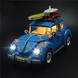 ADMLZQQ Juego De Luces para Volkswagen Beetle - Juego De Luces LED Compatible con Lego 10252 (NO Incluye El Modelo)