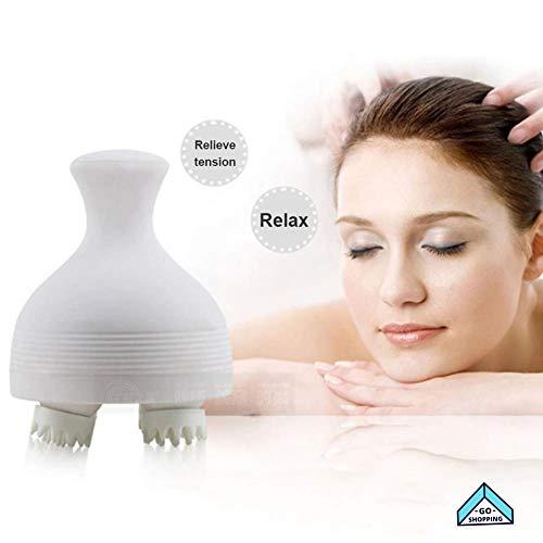 NICEE Appareil de massage du cuir chevelu, appareil de massage de la tête, shampoing du cuir chevelu, brosse hydrofuge électrique NICEY