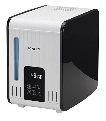 BONECO evaporatore umidificatore S450 - vapore tiepido e privo di batteri e umidificazione controllata dell'aria con la semplice pressione di un pulsante