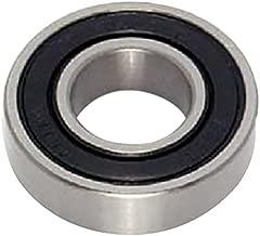 Peer Bearing 6208-RLD 6200 Series Radial Bearings, 40 mm ID, 80 mm OD, 18 mm Width, Single Lip Seal