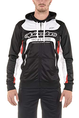 Alpinestars Herren Fleecejacke mit Kapuze Sweats/fleeces Session, Schwarz (Black), XL