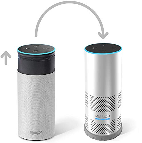 Mission Carcasa con batería para Amazon Echo de 2.ª generación, haz que tu Echo sea portátil, Blanco