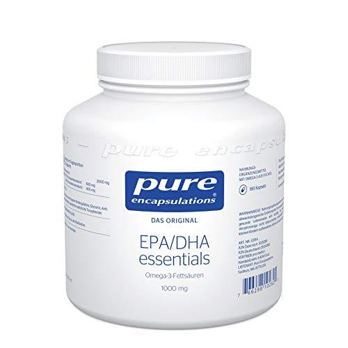 Pure Encapsulations - EPA/DHA Essentials - Hochdosierte Omega-3-Fettsäuren aus hochwertigem Fischöl - 180 Softgelkapseln