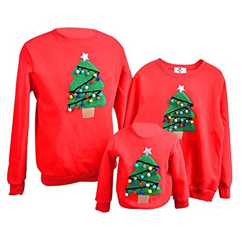 Weihnachtspullover Familie Pulli Pullover Weihnachten Herren Sweatshirt Pullis Sweater Damen Kinder...