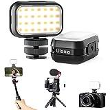 Mod per la luce per GoPro9, VL28 Luce Mini LED per Fotocamera e Samrtphone,Camera Light Ricaricabile 5600K 95+ Luce di Riempimento a Lunga Durata per Gopro Hero 9 8 7,DJI Osmo Action,Sony ZV-1, RX100