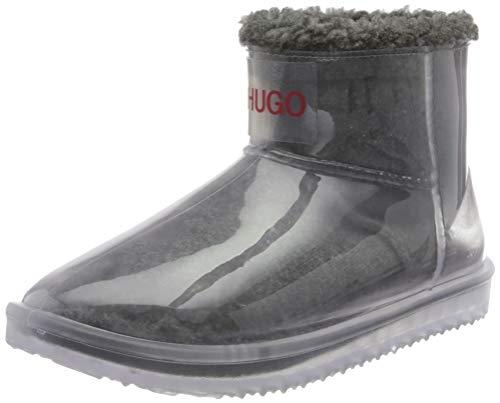 HUGO Damen Cozy Bootie-TR Mode-Stiefel, Light/Pastel Grey52 ,36 EU