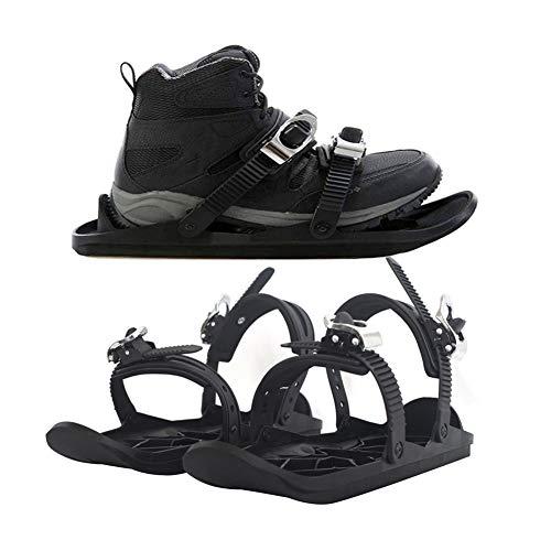 XIONGG Mini-Ski-Skates, Eishockey-Skates, Verstellbare, Tragbare, Strapazierfähige Schuhe Decken Zubehör Für Den Outdoor-Sport Ab