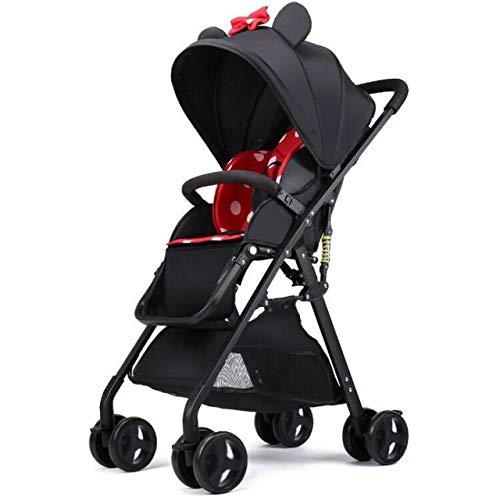 LITIAN Paisaje de Alta Cochecito de bebé Puede Sentarse reclinable Plegable Ultra-Ligero...