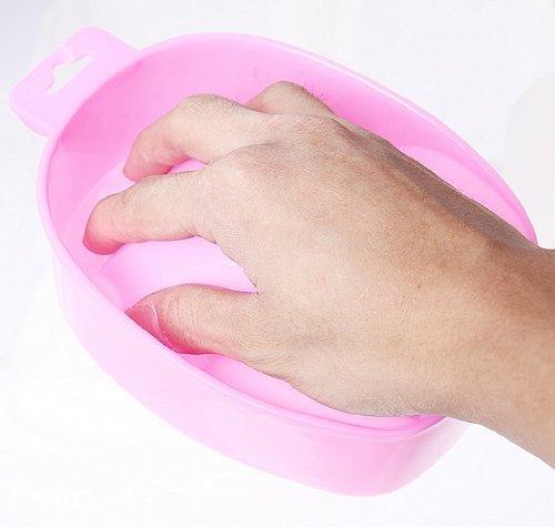 Aeromdale Excellent bol professionnel résistant à l'acétone pour manucure (rose)