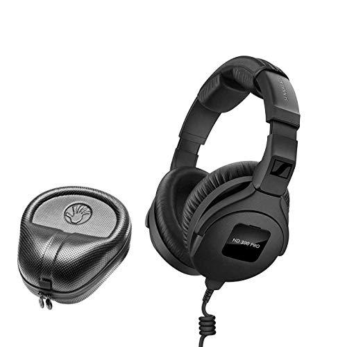Sennheiser HD 380Pro klappbar High-End Kopfhörer w/ Case schwarz