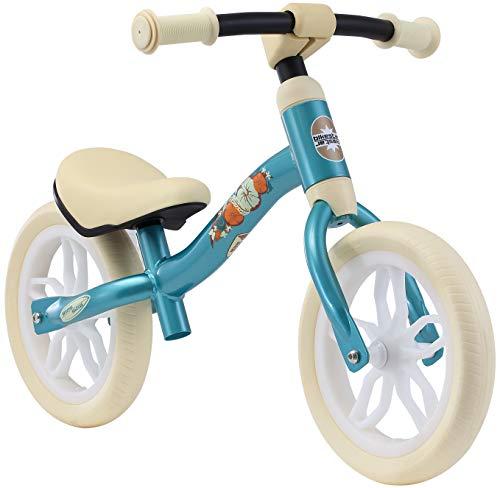 BIKESTAR Federleichtes (3 KG!) Kinderlaufrad Lauflernrad Kinderrad für Jungen und Mädchen ab 2 - 3 Jahre | Mitwachsendes 10 Zoll Kinder Laufrad Lightrunner | Türkis | Risikofrei Testen