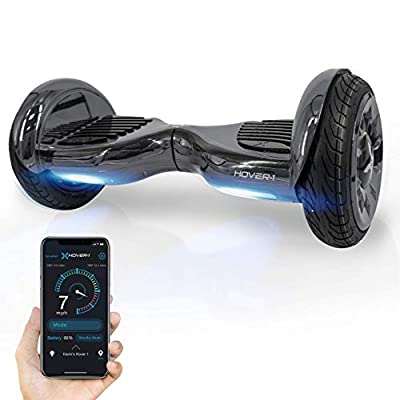 """Hover-1 Titan Electric Self-Balancing Hoverboard Scooter with 10"""" Tires, Gun Metal"""
