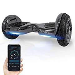 Reaches speeds up to 7. 45 mph for a fun stable ride. 36V, 4 Ah lithium-ion rechargeable battery provides up to 8. 4-Mile range and has battery indicator right at your feet. Weight Capacity The scooter can handle any rider weighing up to 265 lbs. Bui...